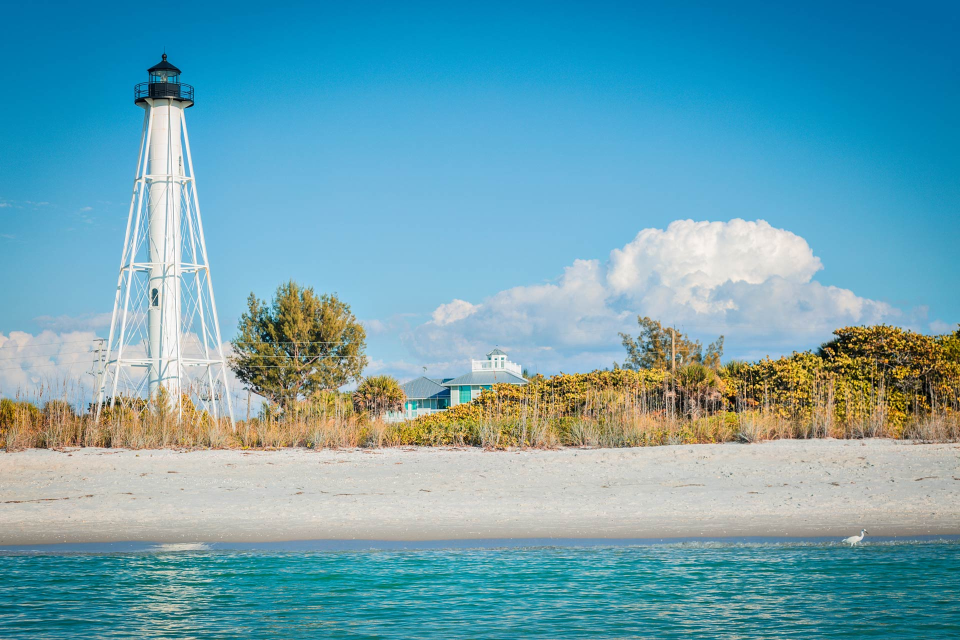 Gasparilla Island Lighthouse in Boca Grande, Florida