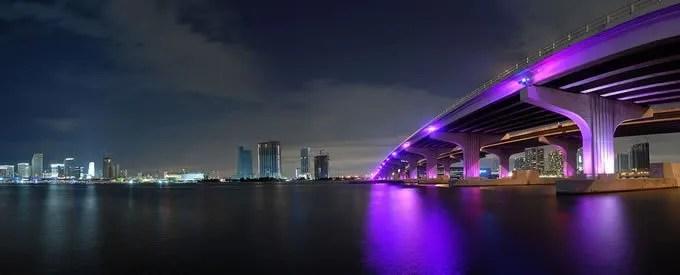 Miami City lights