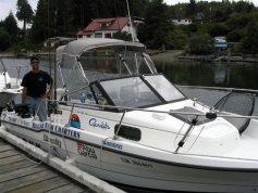 rick and boat