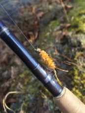 The Girdle Bug. A simple and very effective stonefly nymph.