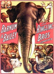 Ringling Brothers Barnum & Bailey poster