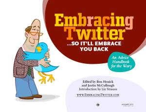 Embracing Twitter e-book