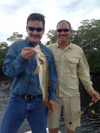 Mark with snook