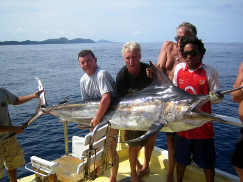 Jimmy and friends big game fishing