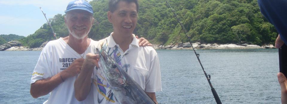 Fishing in the Andaman Sea