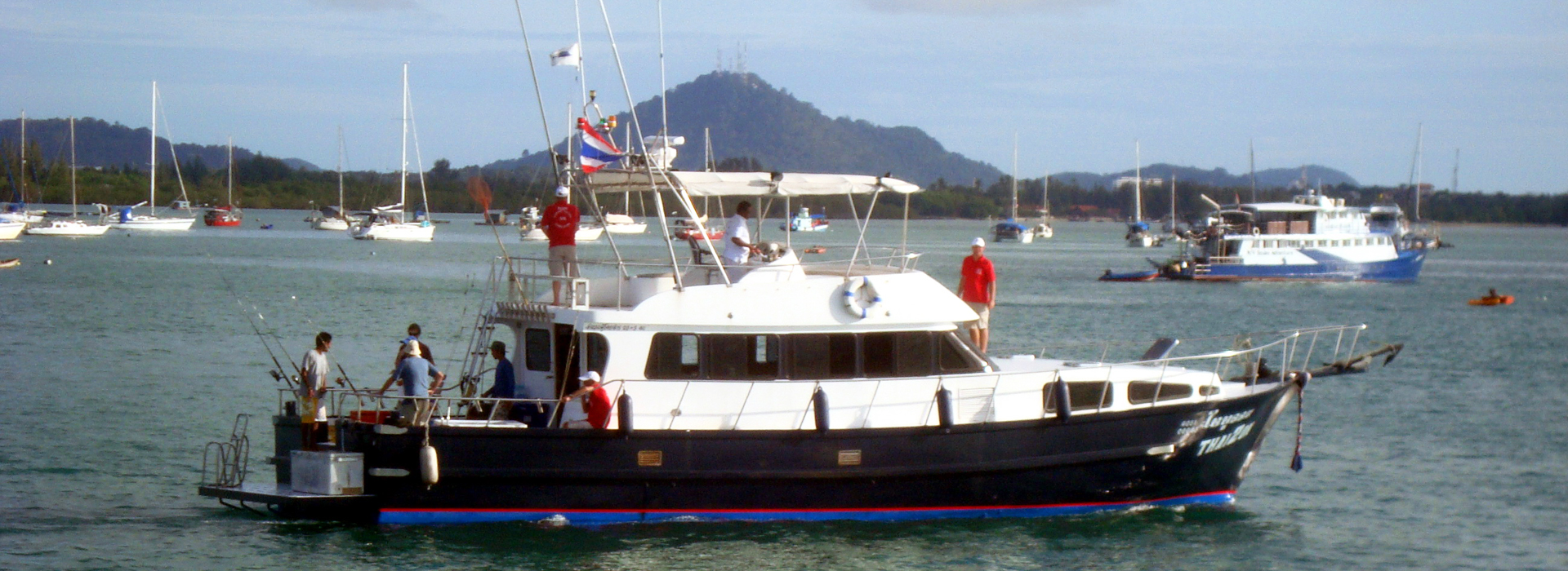 Thai2on fishing boat charter