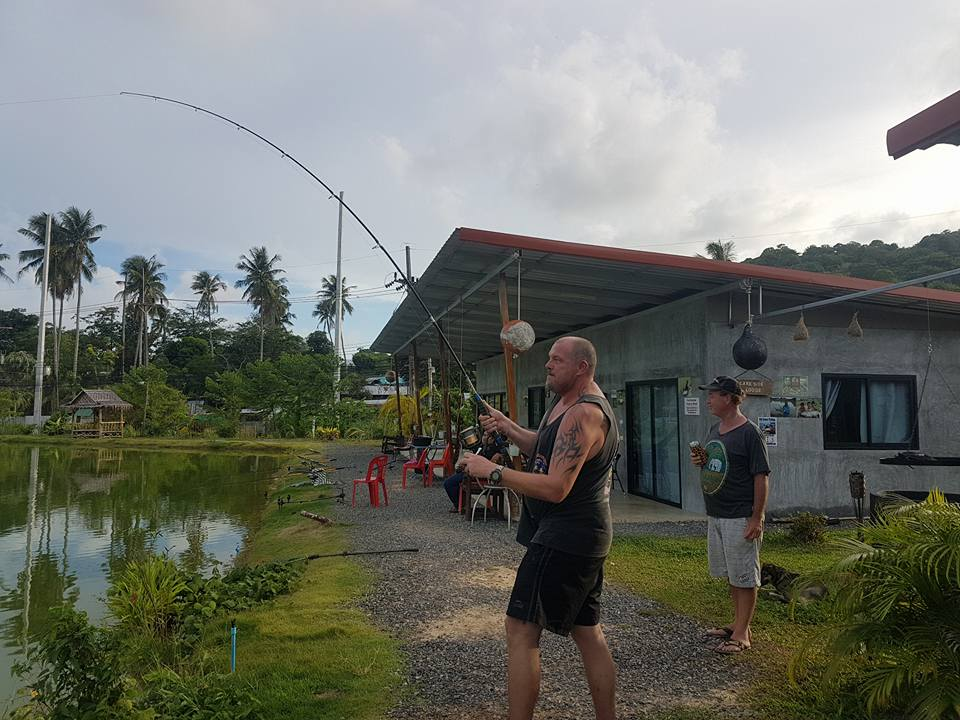 Freshwater fishing in Phuket