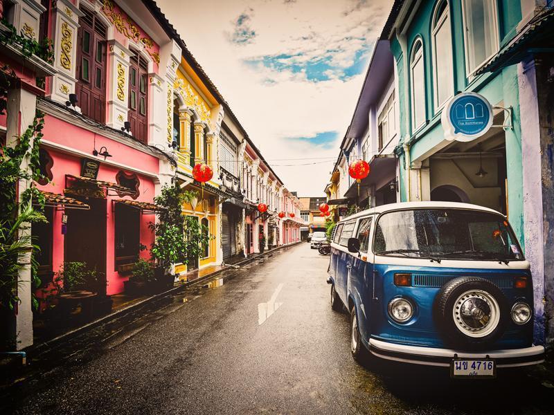 Cheap guesthouse Phuket Town