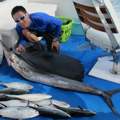 Phuket fishing trophies