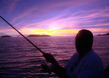 Night fishing with Phuket Sea Gypsies