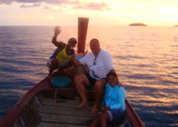 Night fishing with Phuket Sea Gypsies