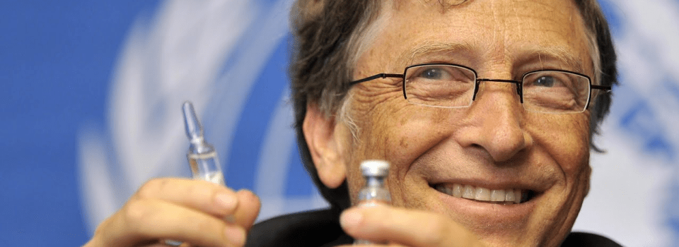 Bill Gates and his vaccine