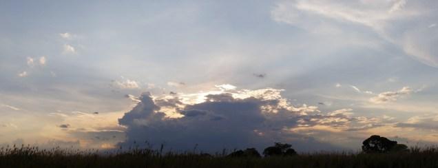Sunset over Kasanka National Park