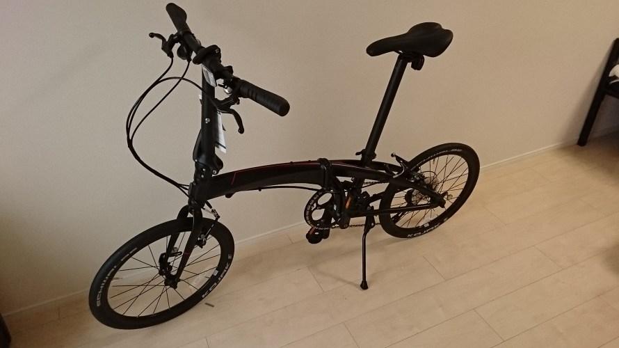 ミニベロ自転車(ターンヴァージュN8)をネット通販で購入したけどメリットしかなかった