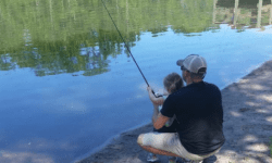 Fishing with kids in Jacksonville
