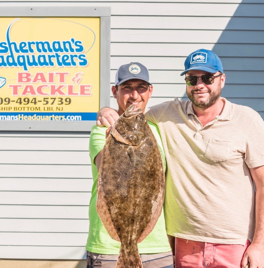Dave and Friend with the winning fish.