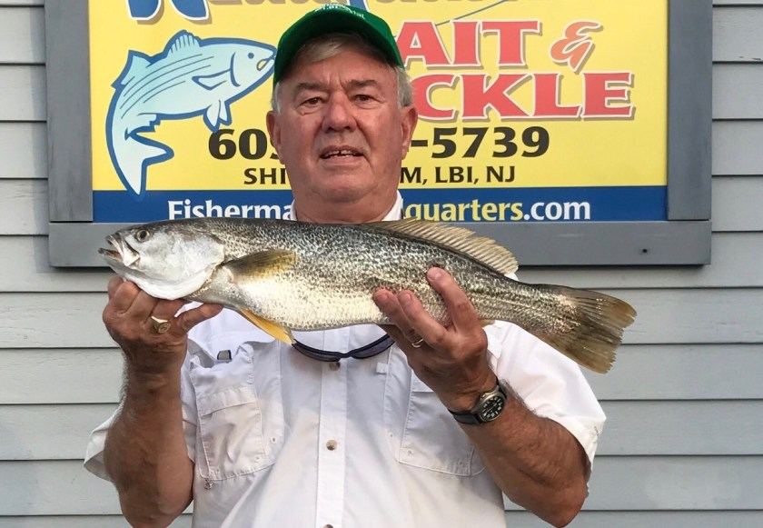 Dave Spendiff weighed in this 4.6 pound weakfish today