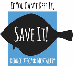 If you can't keep it, save it. Reduce discard mortality and respect the species.