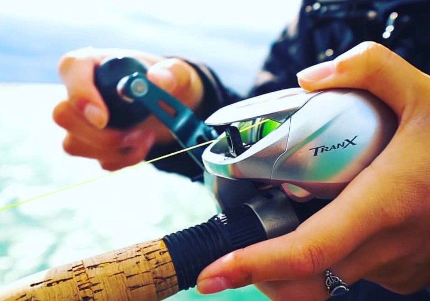 Fish all day in comfort with the Shimano Tranx, the ultimate saltwater low profile fishing reel. From casting and jigging to bottom fishing, the Shimano Tranx reel can do it all. Shimano Tranx are extraordinary saltwater fishing reels! Photo by Todays Anglers