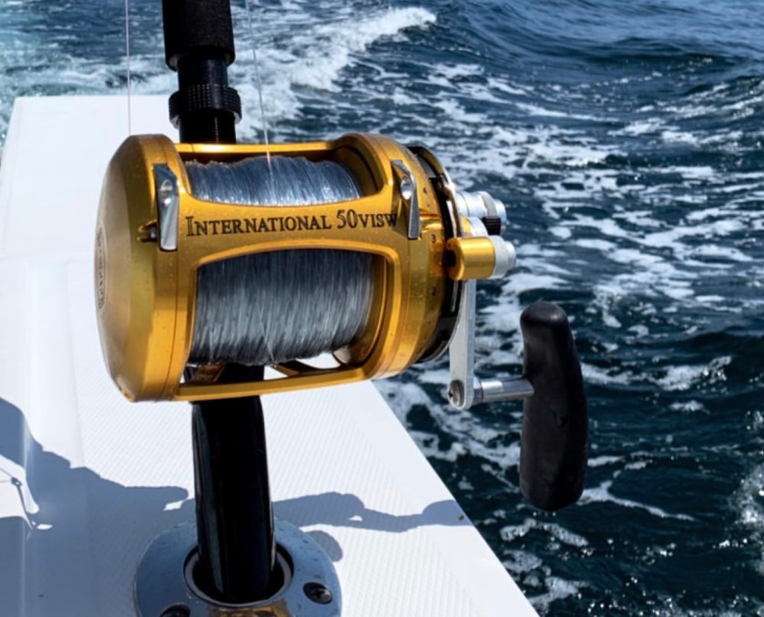 When going to hunt down tuna, billfish or sharks gear up first with Penn International Series Reels for the ultimate big game weapon. They are extraordinary saltwater fishing reels for mid game fishing! Photo by Jim Potter