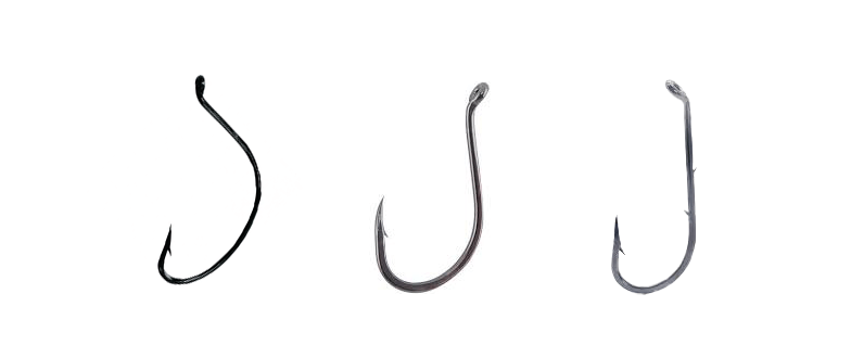 These three hooks are great for fluke fishing! When tying your own rigs always choose quality hooks.