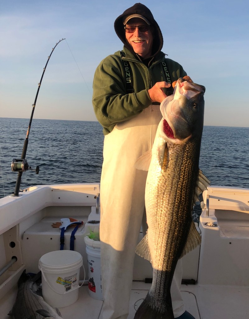 Congrats on joining the 50# club Ed and also Happy Birthday! Being a long time angler who's put in years and years on the waters of LBI you deserve it!