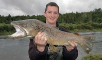Lake Brunner brown trout.