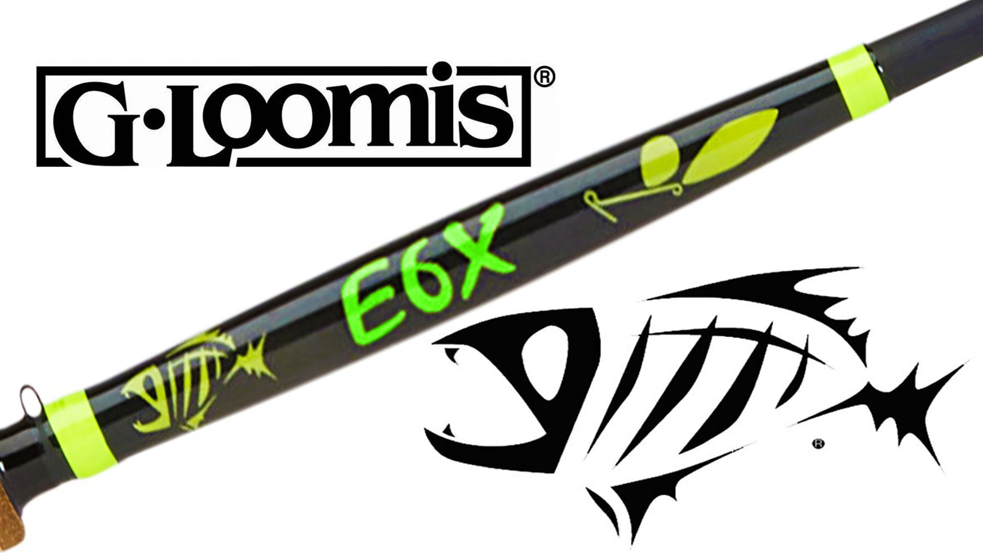 G loomis e6x inshore casting rod for G loomis fish