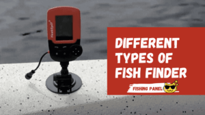 types of fish finder