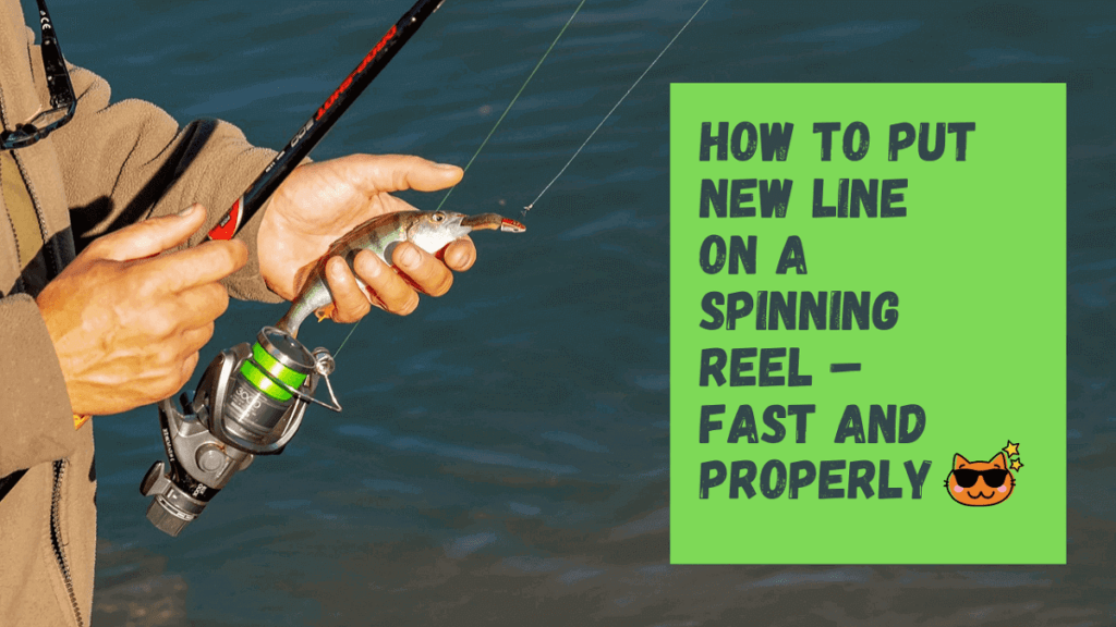 How To Put New Line On A Spinning Reel