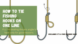 How to Tie two Fishing Hooks on One Line