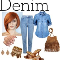 Denim vote-28 tan