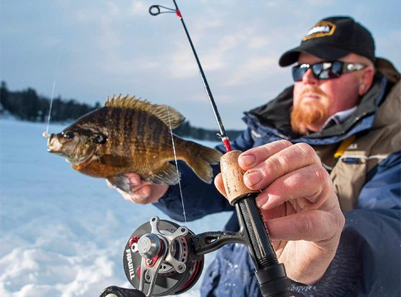 "FRABILL  BRO SERIES ICE FISHING POLE 36/"" QUICK TIP ROD"