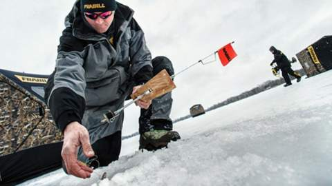Southwick: Frabill Tops on Ice