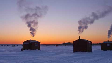 Ice Fishing Forecast: NOAA Issues Winter Outlook