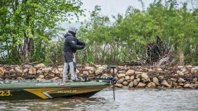 Lawyer at the LaCrosse, WI. FLW Tour event: Photo FLW