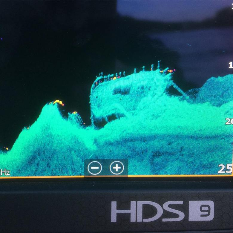 11 Astonishing Underwater Sonar Images from Lowrance