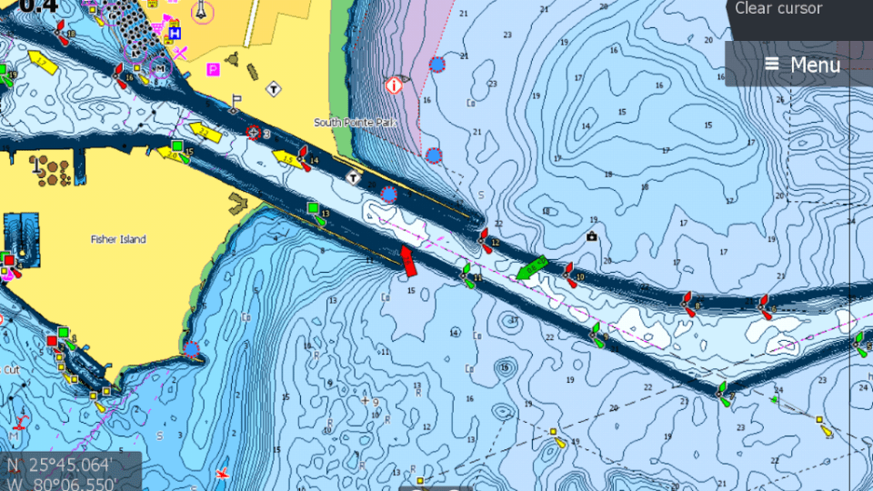 C-MAP Launches High Resolution Coastal Bathymetry