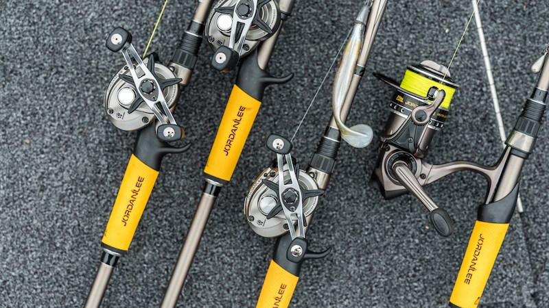 Meet the New Jordan Lee Rod, Reel, Line and Bait Series
