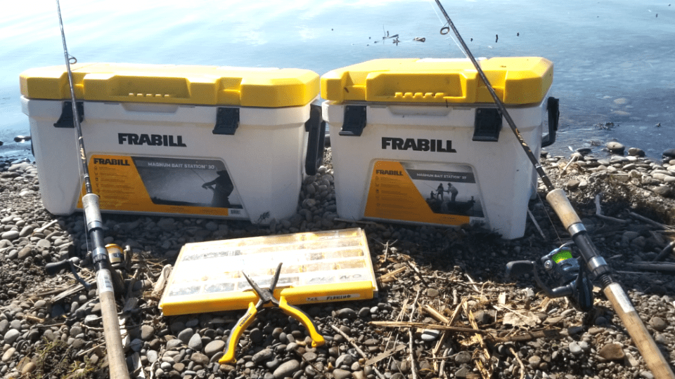 Frabill's Magnum Bait Station Available in 30-Quart Size