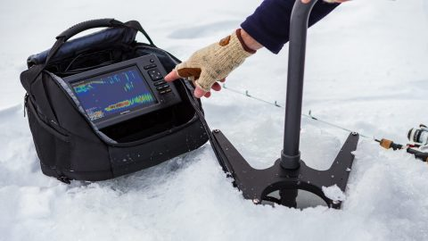 Garmin's New Ice Bundles Are Designed to Catch New Anglers This Winter