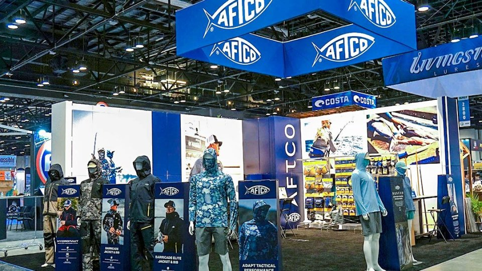 AFTCO Debuted Sustainable Booth At ICAST
