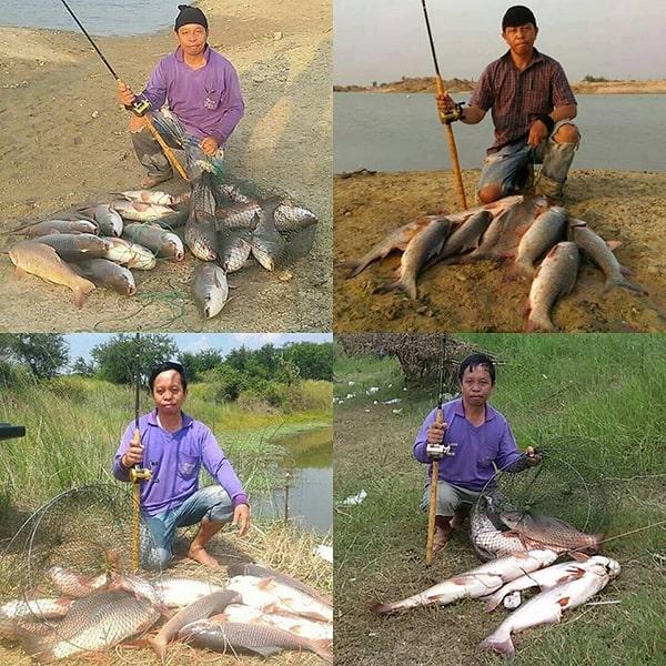 ตกปลาหน้าดิน