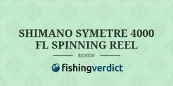 shimano symetre 4000 fl fishing reel review