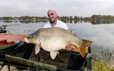 Ullmann Nándor 19,00 kilós szépséggel