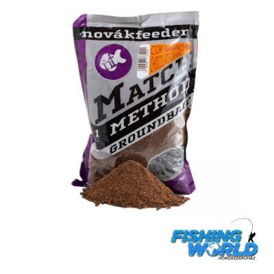 Novák Feeder Match Method csoki-narancs - 1000g