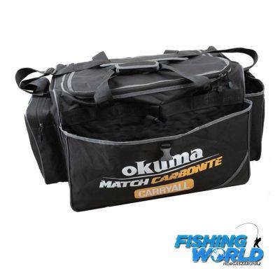 Okuma Match Carbonite Carryall (60x36x39cm) táska