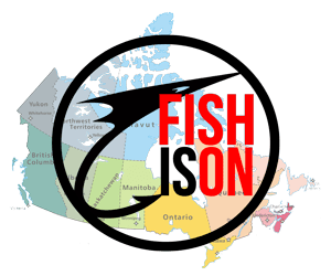 fishison map of canada