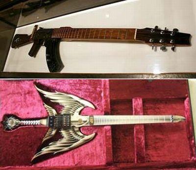 Очень странные гитары (25 фото)