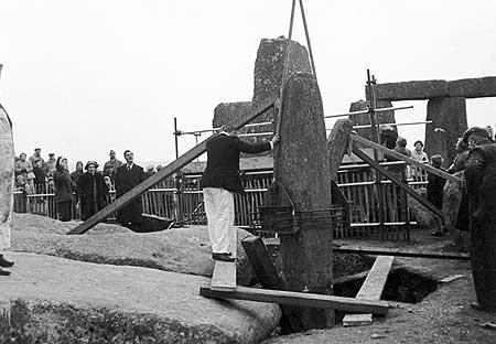 Строительство Стоунхенджа (108 фото)